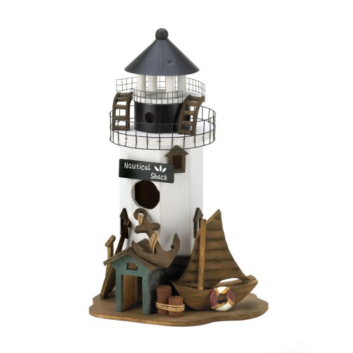 Seashore Lighthouse Birdhouse