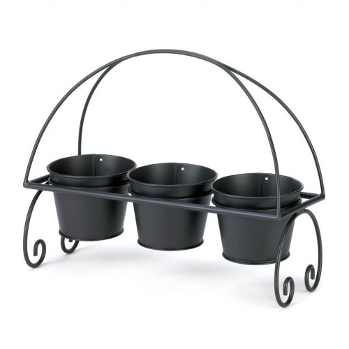 Triple Threat Flower Pots Planter