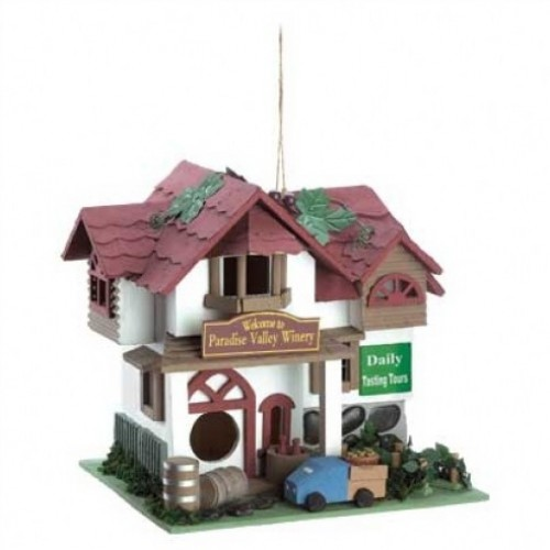 Paradise Winery Birdhouse