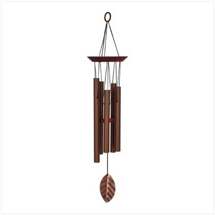 Coppery Chimes Windchime By Woodstock Chimes