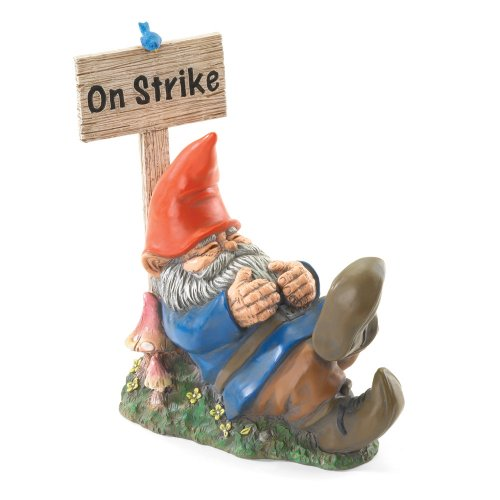 On Strike Sleeping Gnome