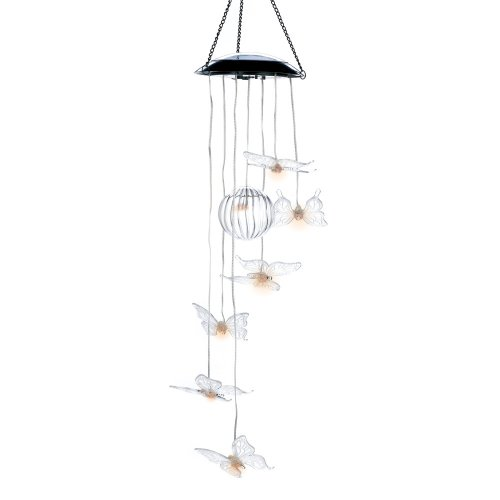 Butterfly Solar Chime