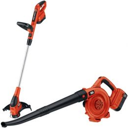 Black & Decker 18-volt Nicd Trimmer & Sweeper Combo
