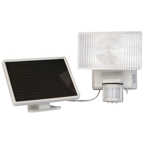 Maxsa Innovations Solar-powered 30-watt Motion-activated Outdoor Security Floodlight